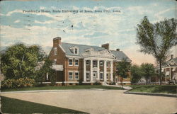 President's Home, State University of Iowa