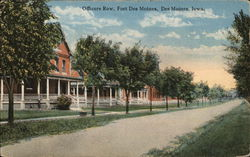 Officer's Row, Fort Des Moines