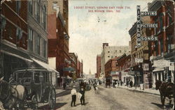 Locust Street, Looking East From Seventh