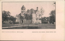 Washington High School Postcard