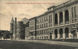Auditorium and Office, Iowa State Normal School