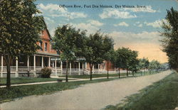 Officers Row, Fort Des Moines