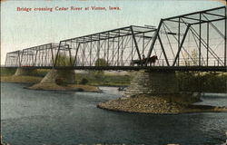 Bridge Crossing Cedar River