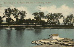 The Country Club, View of Boat Landing and River