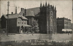 First M.E. Church and Parsonage
