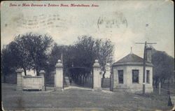 Gates of Main Entrance to Soldiers Home