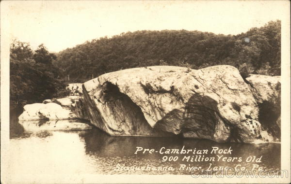 Precambrian Rock, Susquehanna River Columbia Pennsylvania