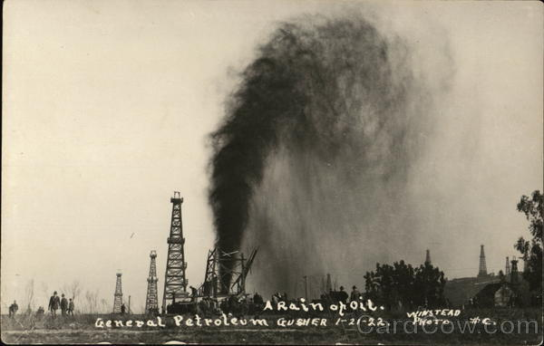 A Rain of Oil 1-21-1922 Oil Wells
