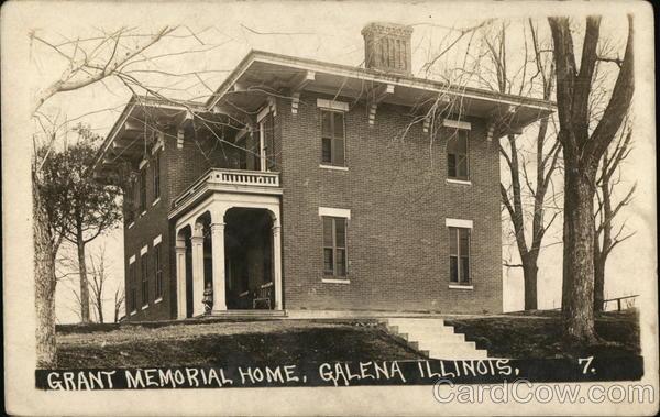 Grant Memorial Home Galena Illinois