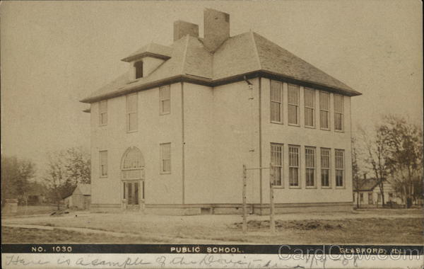 Public School Glasford Illinois