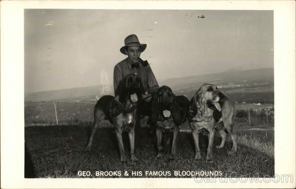George Brooks & His Famous Bloodhounds La Crosse Wisconsin
