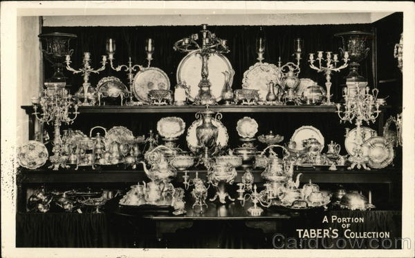 A Portion Of Taber's Silver Collection Miscellaneous