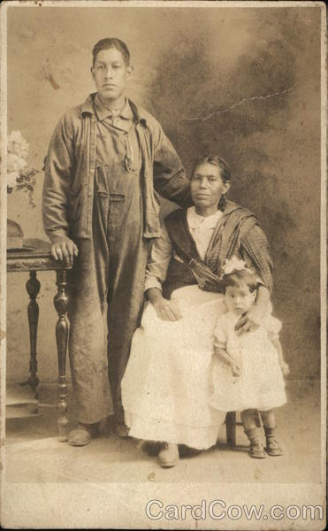 Portrait of Mexican Family Mexico
