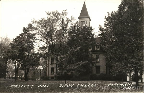 Bartlett Hall, Ripon College Wisconsin