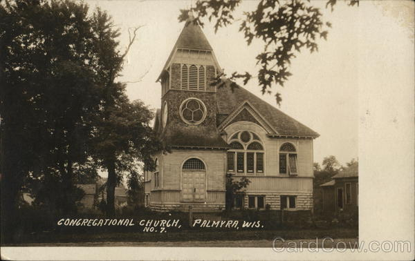 Congregational Church Palmyra Wisconsin