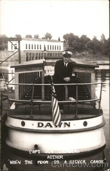 Capt. Don Saunders, Author Wisconsin Dells Boats, Ships