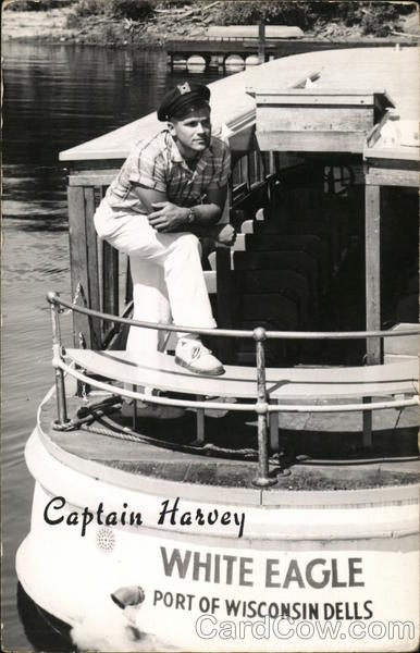 Captain Harvey of the White Eagle Wisconsin Dells