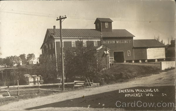 Jackson Milling Co. Amherst Wisconsin