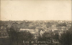 View of Estherville Postcard