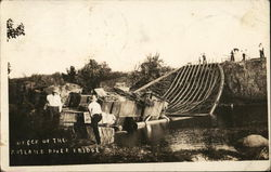 Wreck of the Rutland River Bridge