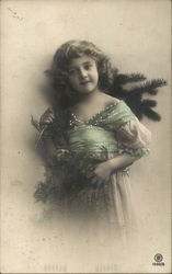 Girl with Fir Boughs