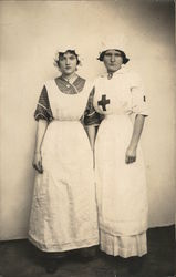 Two Nurses Postcard