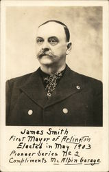 James Smith, First Mayor of Arlington 1903