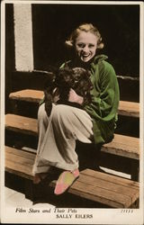 Film Stars and Their Pets: Sally Eilers