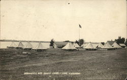Marinette Boy Scout Camp, Lake Noquebay