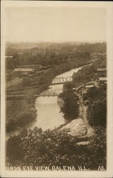Birds Eye View Postcard
