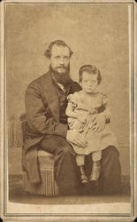 Portrait of Father and Child
