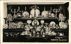 A Portion Of Taber's Silver Collection