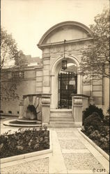 Garden, The Christian Science Publishing House Postcard