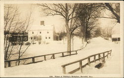 Winter at Whittier's Birthplace