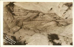 """Flowing Lava,"" Wonder Cave Postcard"