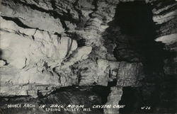 Double Arch in Ball Room, Crystal Cave
