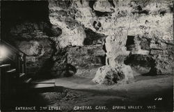 Entrance 2nd Level at Crystal Cave