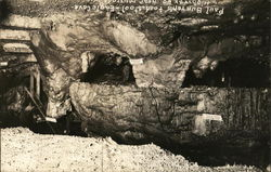 Paul Bunyan's Toadstool, Eagle Cave