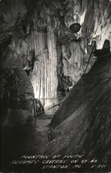 Fountain of Youth at Meramec Caverns on Hy 66 Postcard
