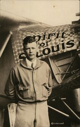 Charles Lindbergh & Spirit of St. Louis