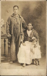 Portrait of Mexican Family