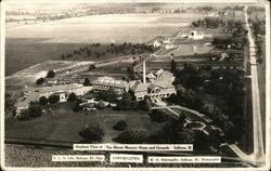 Airplane View of The Illinois Masonic Home and Grounds