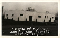 Home of VFW, Leon Richardt, Post 6791