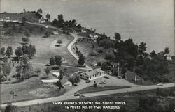 Twin Points Resort--No. Shore Drive Postcard