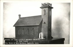 Model of the Little Brown Church in the Vale