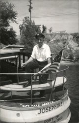 "Capt. Herb Droste of the ""Josephine"""