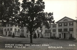 Shaler Evans and Wright Halls, Ripon College
