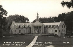Frank J. Harwood Student Union Ripon College Postcard