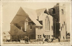 Methodist Church After Earthquake
