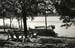 Boat Landing at Cape Horn, Horne's Cottages, Trump Lake